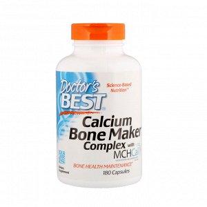 Doctor&#x27 - s Best, Calcium Bone Maker Complex с MCHCal, 180 капсул