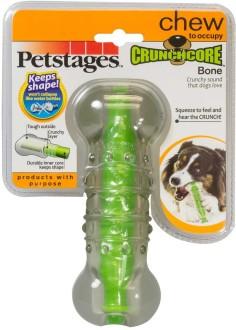 """Petstages игрушка для собак """"Хрустящая косточка"""" резиновая 15 см большая"""