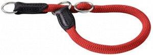 Hunter ошейник-удавка для собак Freestyle 35/8 круглый нейлон красный