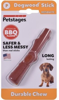 Petstages игрушка для собак Mesquite Dogwood с ароматом барбекю 10 см очень маленькая