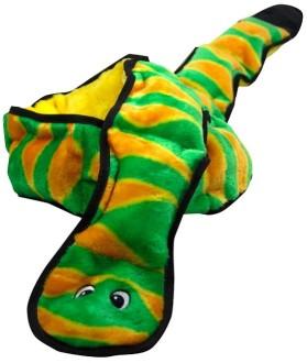 OH игрушка для собак Invincibles Змея XXL 12 пищалок 1,5 метра