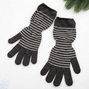 Перчатки женские арт 209 цвет темно серый , р-р 18
