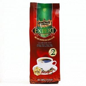 "Молотый кофе ""Expert №2"" т.м. King Coffee (состав: Арабика, Робуста, Катимор, Эксцельза)  100гр"