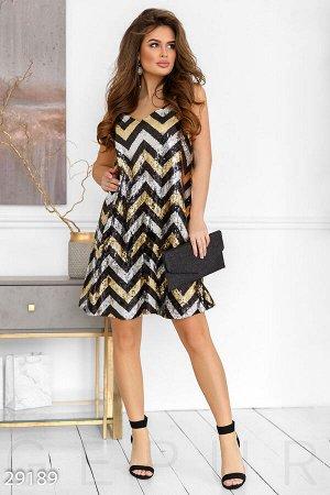 Вечернее платье-сарафан