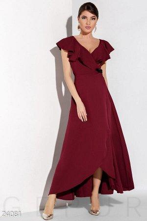 Расклешенное вечернее платье