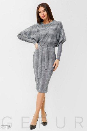 Платье с рукавом-реглан