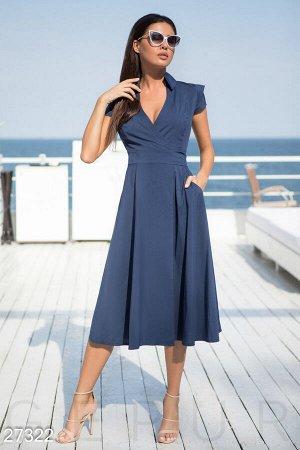 Струящееся летнее платье