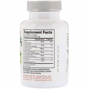 Quantum Health, Super Lysine+, иммунная поддержка, 90 таблеток