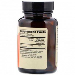 Dr. Mercola, Липосомальный витамин С для детей, 30 капсул