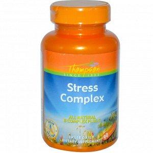 Thompson, Стресс-комплекс, 90 капсул