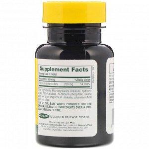 Nature&#x27 - s Plus, Витамин B-2, 250 мг, 60 таблеток