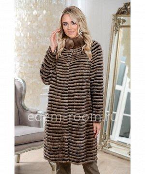 Пальто из меха на холодную погодуАртикул: 17014-90-SB-CH