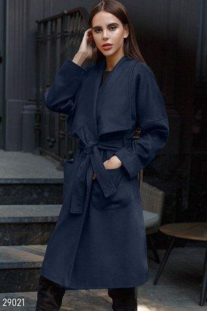 Шерстяное пальто Gepur