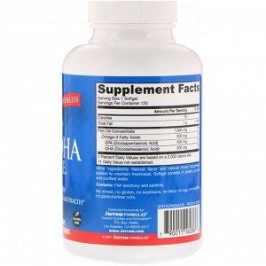 Jarrow Formulas, EPA-DHA Balance, 120 мягких таблеток