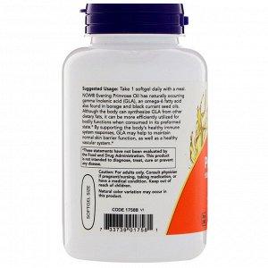 Now Foods, Масло примулы вечерней, 1000 мг, 90 растительных мягких желатиновых капсул