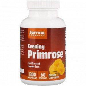Jarrow Formulas, Evening Primrose, 1300 мг, 60 мягких желатиновых капсул