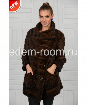 Куртка из вязки норковойАртикул: NV-2218-Z