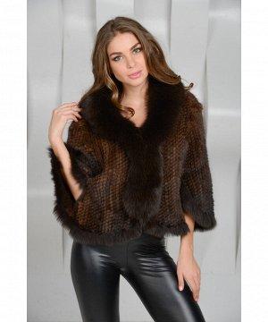 Клубная куртка из норковой вязкиАртикул: NV-8322-M
