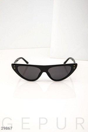 Женские очки кошачий глаз