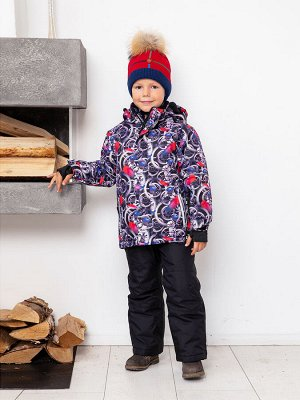 Комплект швейный для мальчиков: куртка, брюки
