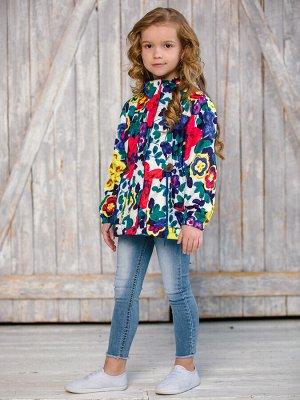 Куртка текстильная для девочек (парка)