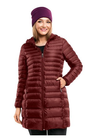 #83771 Куртка бургунди