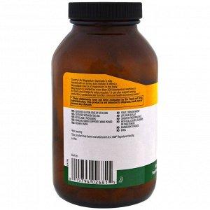 Country Life, Хелатный глицинат магния, 400 мг, 180 таблеток