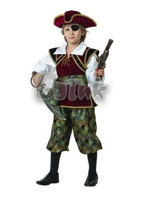 Новогодний костюм КОРСАР. Размер 34 на рост 128-134 см.