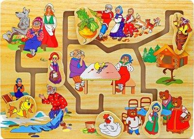 Мир развивающих игрушек Wood Toys™ — Лабиринты и Ходилки — Развивающие игрушки
