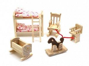 Мебель для домика Детская