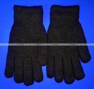Перчатки мужские толстые чёрные