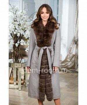 Шерстяное теплое пальто Артикул: TG-2310-115-KP-P