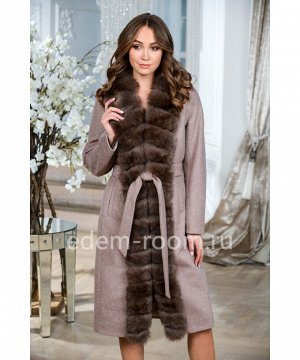Теплое пальто из шерсти альпакиАртикул: TG-2311-110-KP-P