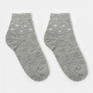 Носки женские махровые «Снежинки», цвет микс, размер 23-25 (36-38)