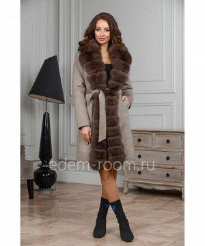 Зимнее пальто - паркаАртикул: V-18222-90-SR-P