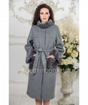 Пальто на большие размерыАртикул: A-18333-110-SR-N
