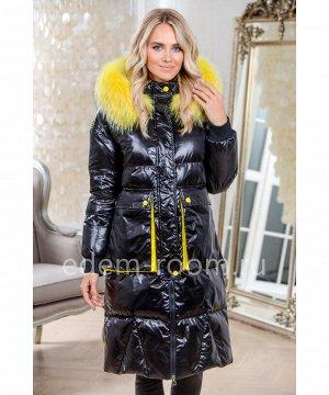 Модное пальто на эко-пухеАртикул: 20059-2-100-CH