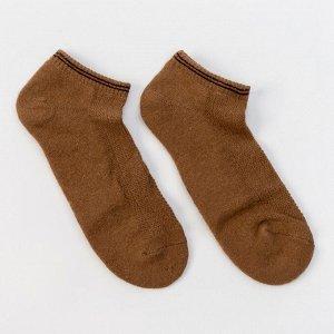 Носки мужские, цвет рыжий, размер 27 (41-43)