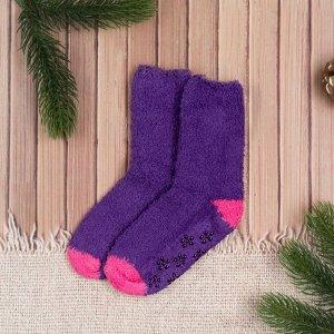 Носки детские Collorista, размер 18 (3-4 года), цвет фиолетовый/розовый   3743595