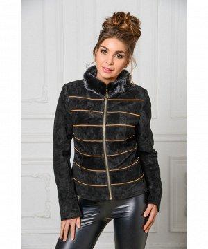 Куртка из натуральной замшиАртикул: S-715-1-K