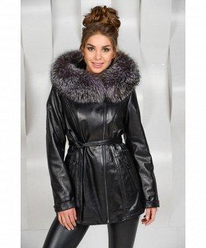 Кожаная куртка на прохладную погодуАртикул: OL-K7125-CH