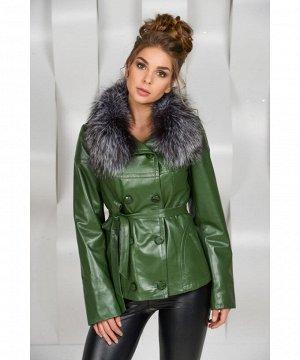 Кожаная куртка для холодной погодыАртикул: OL-2090-Z