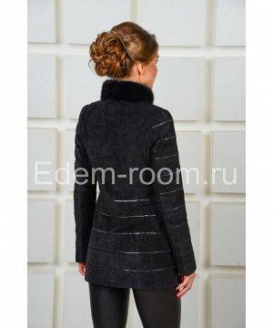 Весенняя  куртка из замшиАртикул: F-1533-ch