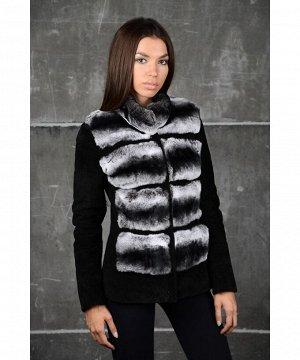 Стильная замшевая куртка Артикул: 13-035-CH