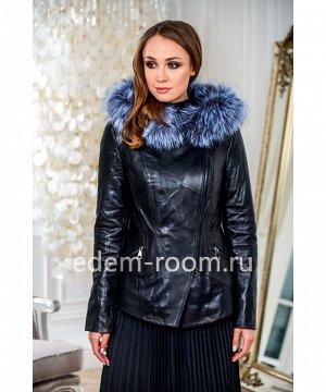 Кожаная куртка для межсезоньяАртикул: S-8872-2-60-CH