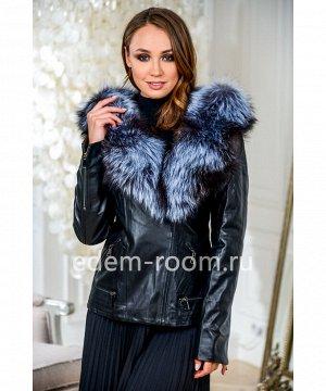 Демисезонная кожаная курткаАртикул: S-7907-2-60-CH