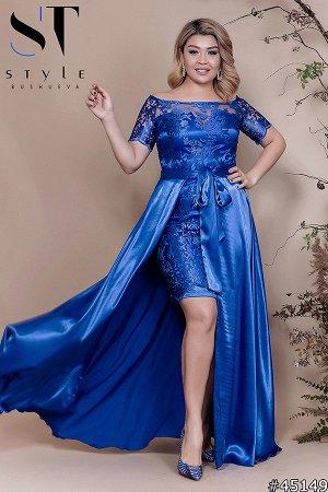 Платье со съемной юбкой 45149