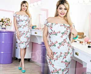Силуэтное платье  24771