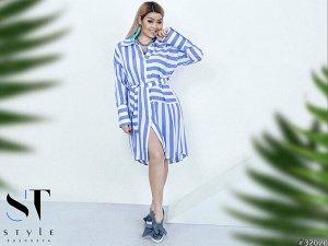 Платье - Рубашка 32020