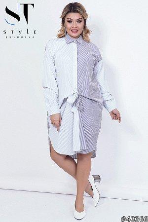 Платье-рубашка 43366